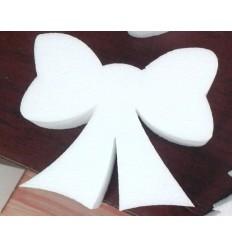 Fiocco di polistirolo altezza 10 cm conf .da 10 pezzi