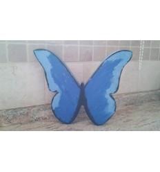 Farfalla in polistirolo colorata