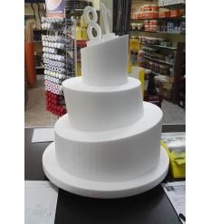 Base polistirolo WONKY diametro 15 cm altezza 5/10