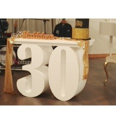 Tavolo in polistirolo numero 30