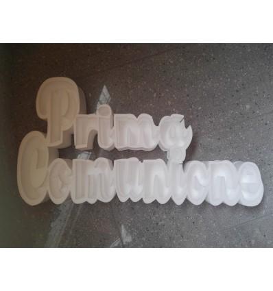Portaconfetti scritta in polistirolo